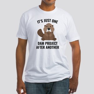 One Dam Project Fitted T-Shirt