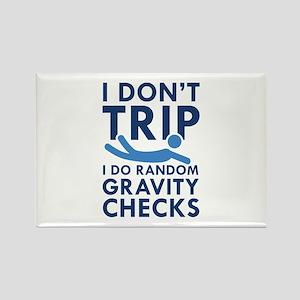 Gravity Checks Rectangle Magnet
