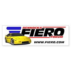 PFF Bumper Sticker - Yellow/Yellow