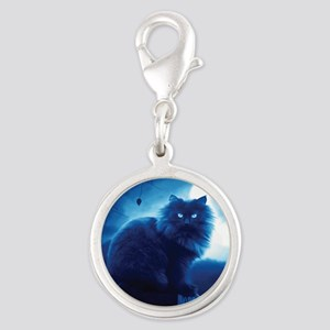 Black Cat In The Night Charms