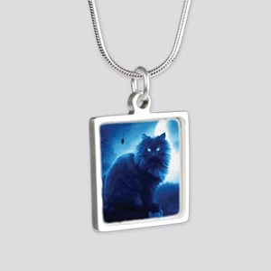 Black Cat In The Night Necklaces