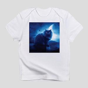 Black Cat In The Night T-Shirt