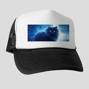 Black Cat In The Night Hat