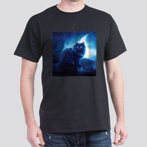 Black Cat In The Night T-Shirt