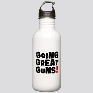GOING GREAT GUNS! Stainless Water Bottle 1.0L
