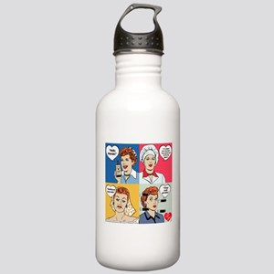 I Love Lucy Valentine' Stainless Water Bottle 1.0L