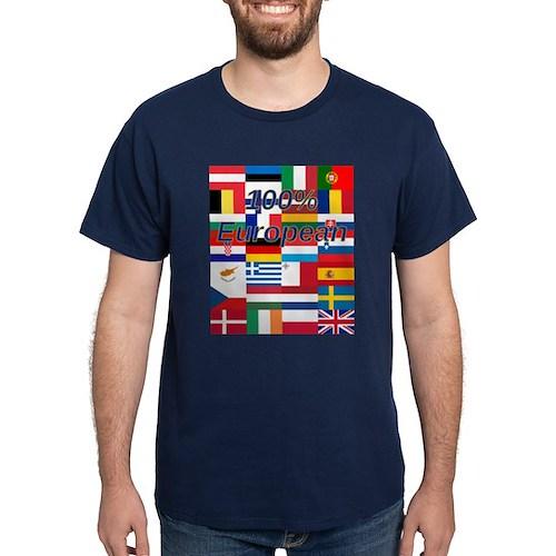 100% European T-Shirt