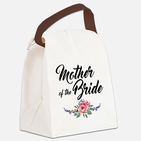mother of the bride Canvas Lunch Bag