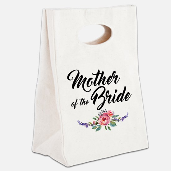 mother of the bride Canvas Lunch Tote