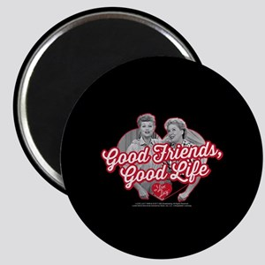 Lucy and Ethel:Good Friends Good Life Magnet