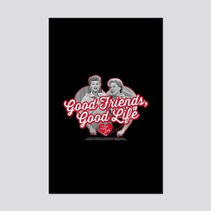 Lucy and Ethel:Good Friends Good Mini Poster Print