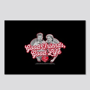 Lucy and Ethel:Good Frien Postcards (Package of 8)