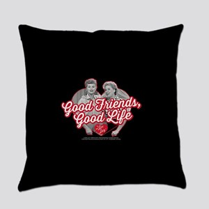 Lucy and Ethel:Good Friends Good L Everyday Pillow