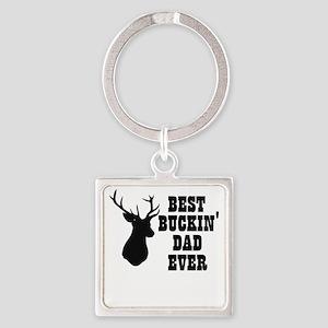 Best buckin Dad Ever Keychains