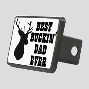 Best buckin Dad Ever Hitch Cover