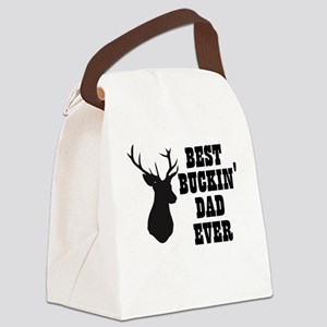 Best buckin Dad Ever Canvas Lunch Bag