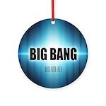 Big Bang Theory Round Ornament