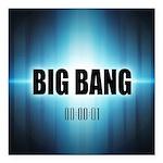 Big Bang Theory Square Car Magnet 3