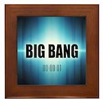Big Bang Theory Framed Tile