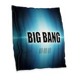 Big Bang Theory Burlap Throw Pillow