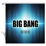 Big Bang Theory Shower Curtain
