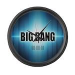 Big Bang Theory Large Wall Clock