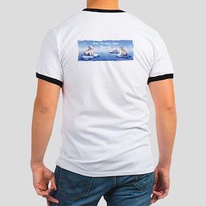 Polar Bears O-Pop Ringer T T-Shirt