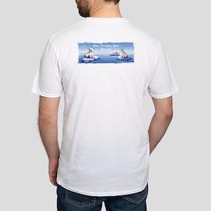 Polar Bears O-Pop Fitted T-Shirt