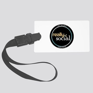 Are You Really Social? Large Luggage Tag