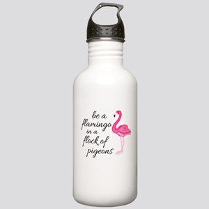 Be a Flamingo Water Bottle