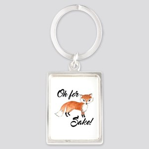 Oh for fox sake Keychains