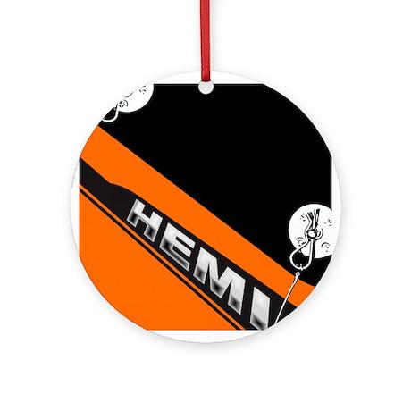 ORANGE HEMI Ornament (Round)