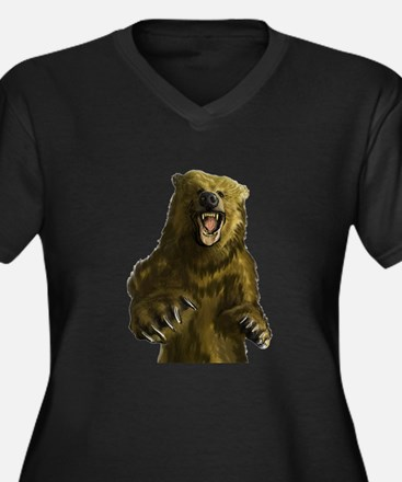 GROWL Plus Size T-Shirt
