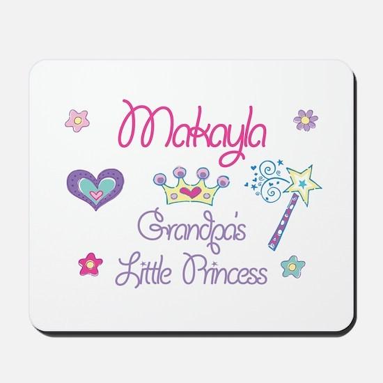 Makayla - Grandpa's Little Pr Mousepad