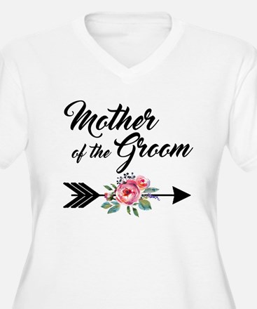 Mother of the Groom Plus Size T-Shirt