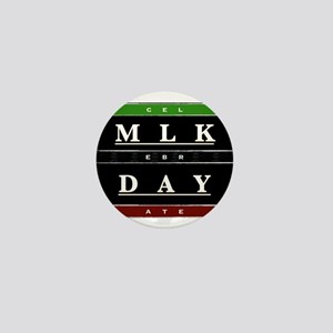 MLK Day Mini Button