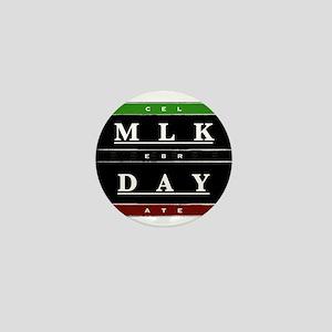 MLK Day Mini Button
