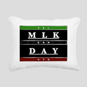 MLK Day Rectangular Canvas Pillow