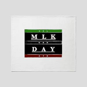 MLK Day Throw Blanket