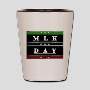 MLK Day Shot Glass