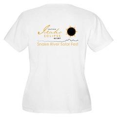 Women's Scoop Neck Plus Size T-Shirt