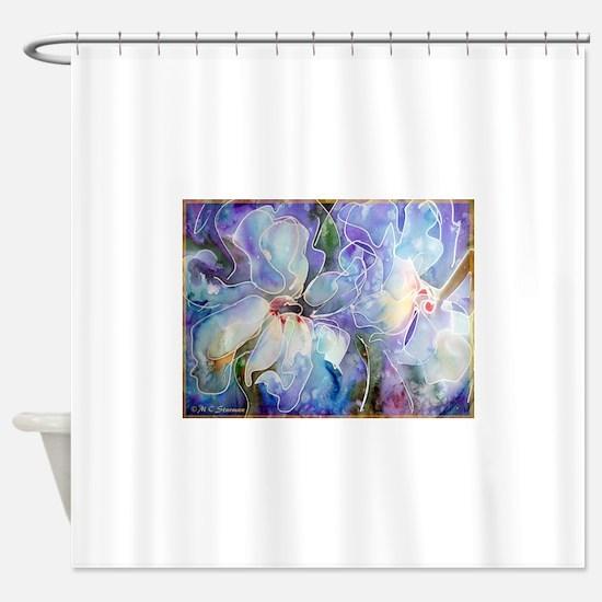 Magnolias! Floral art! Shower Curtain