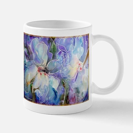 Magnolias! Floral art! Mugs