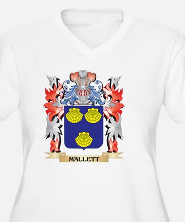 Mallett Coat of Arms - Family Cr Plus Size T-Shirt