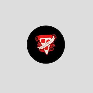 Pizza is Love Black BG Mini Button
