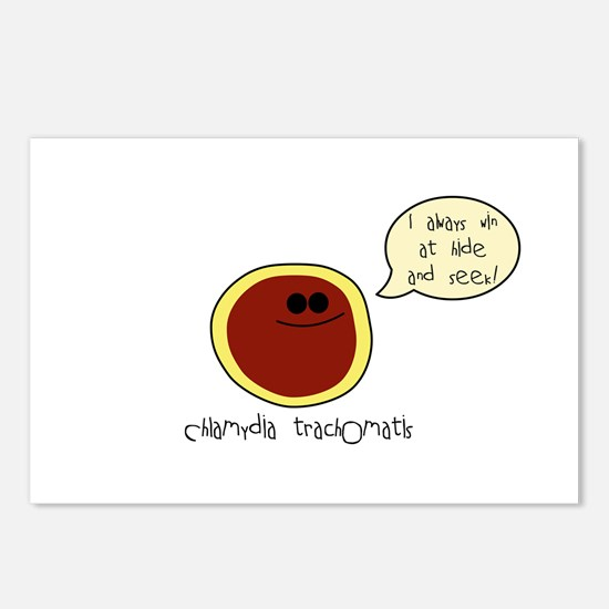 Chlamydia Postcards (Package of 8)