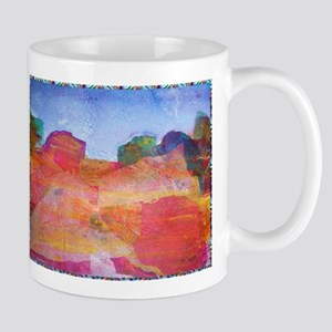 Colorful desert landscape Mugs