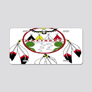 Maliseet Aluminum License Plate