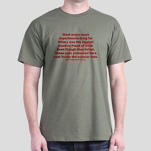 Biggest Election Fraud Dark T-Shirt
