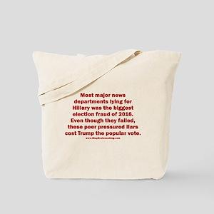 Biggest Election Fraud Tote Bag